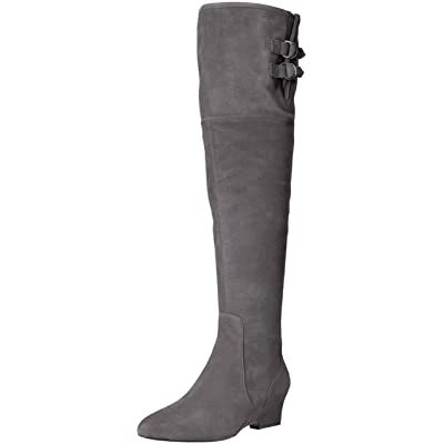 NINE WEST Women's JAEN Suede Knee High Boot | Knee-High