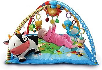 VTech Baby - Manta Convertible en Gimnasio, Color Azul, versión española (3480-