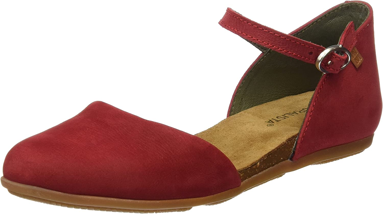 El Naturalista Nd54, Sandali Con Cinturino Alla Caviglia Donna Rosso Tibet