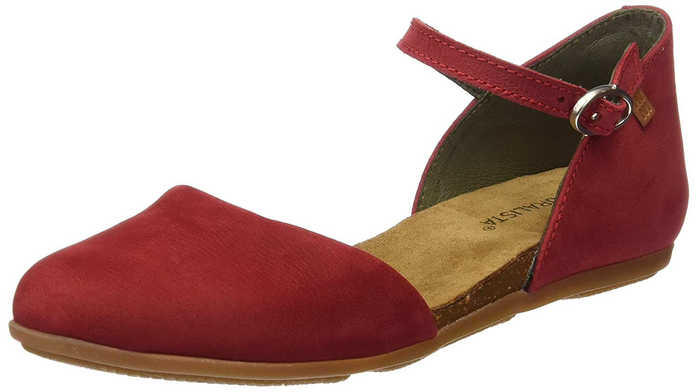 El Naturalista Women's Nd54 Stella Flat Sandal B01M19GGE8 36 M EU|Tibet