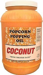 Coconut Popcorn Popping Oil (Gallon)