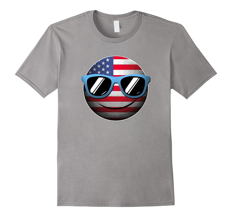 Emoji 4th July T-Shirt-FL