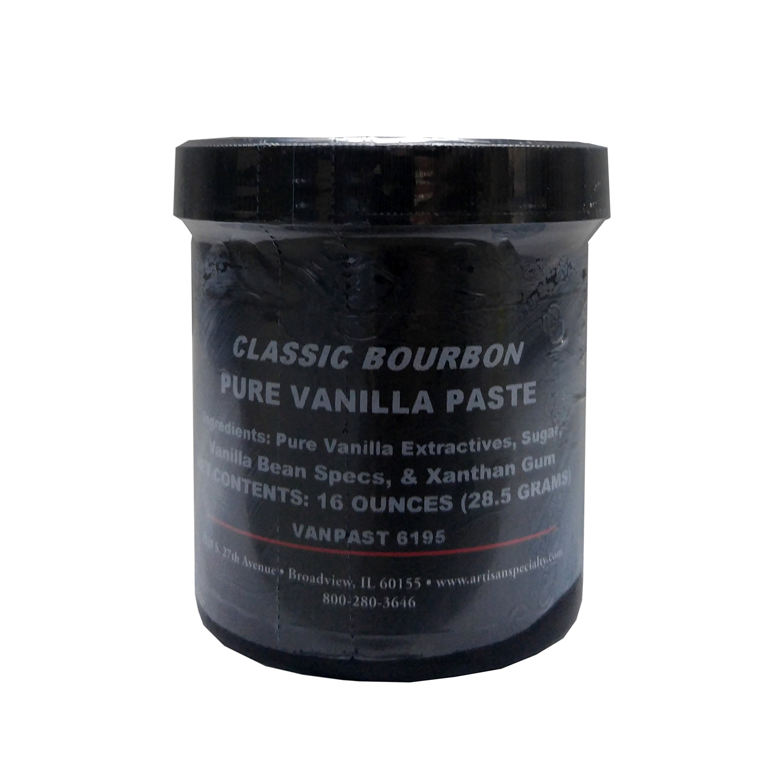Classic Bourbon Pure Vanilla Paste - 16 oz