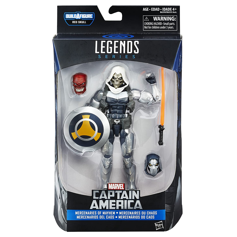 Marvel- capitán américa Juguete,, Talla única (Hasbro B6399AS0)