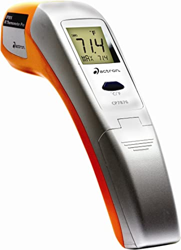 Actron CP7876 IR Thermometer PRO Non-Contact Infrared Thermometer with Laser Pointer
