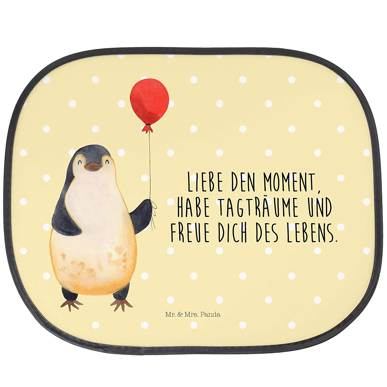 Mr /& Mrs Panda PKW Auto Auto Sonnenschutz Pinguin Luftballon mit Spruch Farbe Blau Pastell