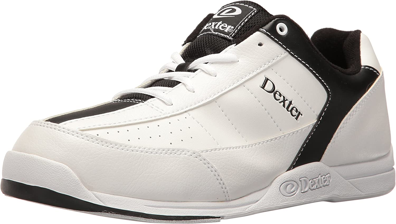 5.5 US 7 UK Dexter Mens Ricky III Bowling Shoes-Black//Red