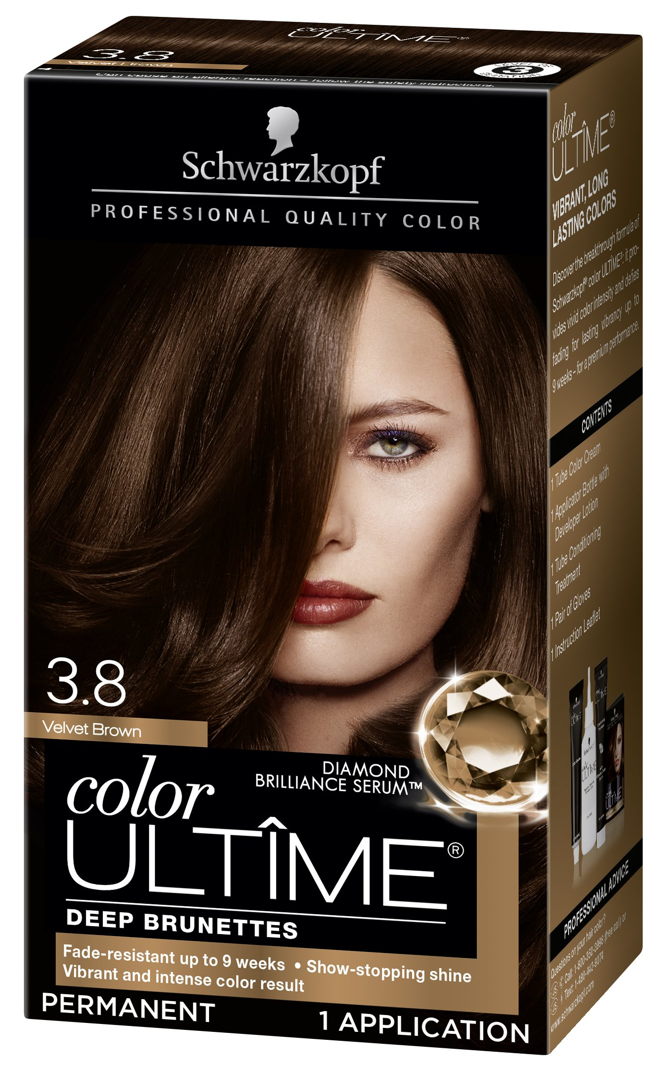 Amazon Schwarzkopf Color Ultime Hair Color Cream 38 Velvet