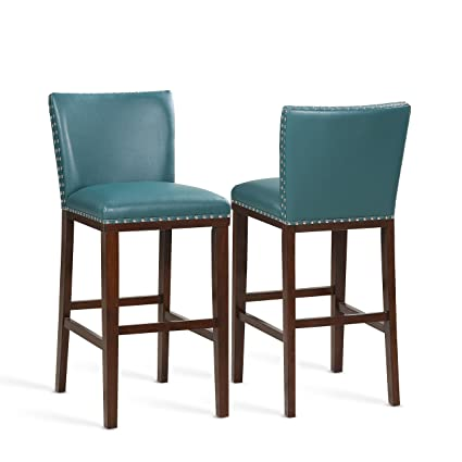 Sensational Amazon Com Steve Silver Set Of 2 Tiffany Peacock Bar Stool Ibusinesslaw Wood Chair Design Ideas Ibusinesslaworg