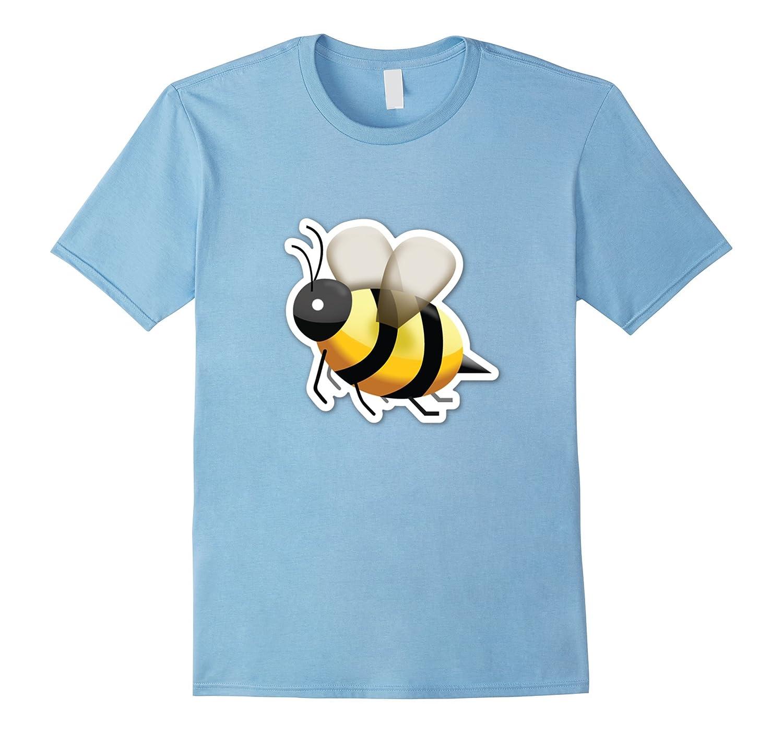 HONEY BEE Emoji-Emoticon T-Shirt-BN