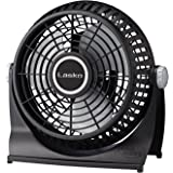 "Amazon.com: Lasko 2017 12"" Table Fan, Black: Home & Kitchen"