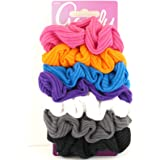 Goody Ouchless Ribbed Scrunchies - 7 Pcs.