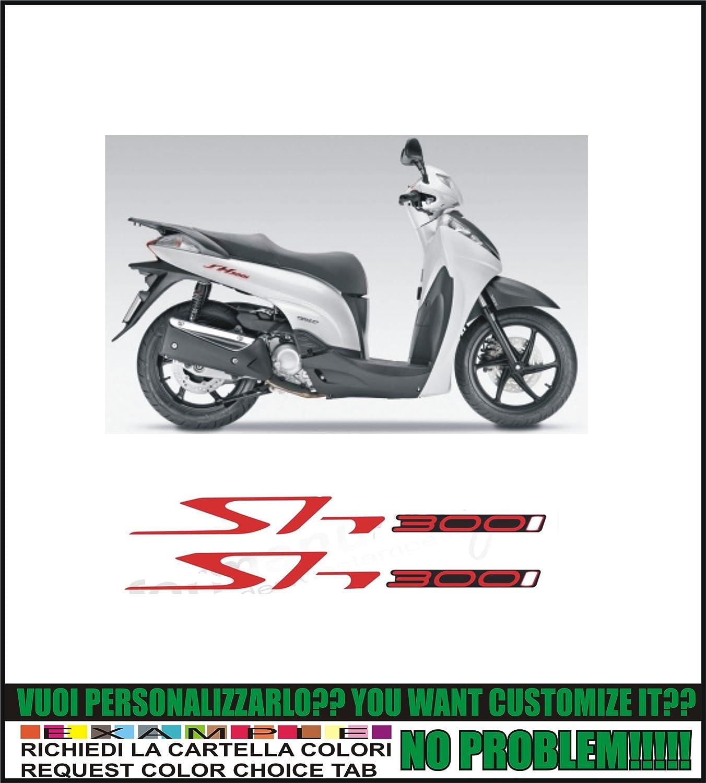 possibilit/à di personalizzare i colori Kit adesivi decal stikers HONDA SH 125 I 150 I 300 I FORMANUDESIGN