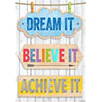 Dream It. Believe It. Achieve It. - Inspire U Poster - Classroom Display Posters