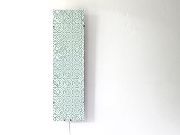 Yourdea Vitre De Rechange Pour Appliques Murales IKEA GYLLEN 95 Cm Avec  Motif : Biarritz