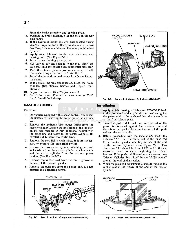 Bishko Automotive Literature 1961 1962 1963 Lincoln 62 Engine Diagram Continental Shop Service Repair Manual Book