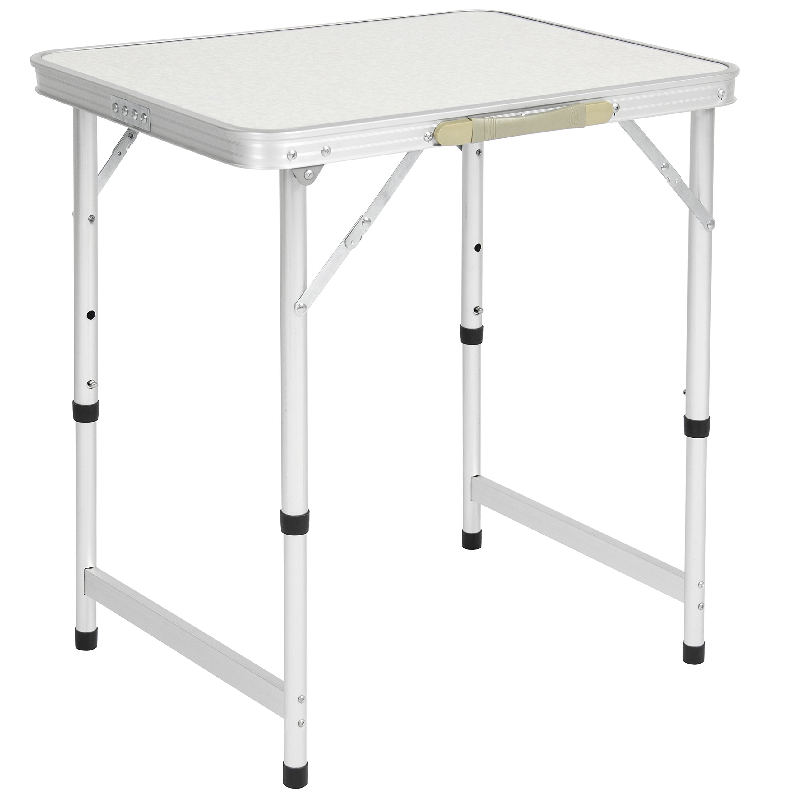 Best Choice Products Aluminum Camping Picnic Folding Table Portable Outdoor, 23.5'' x 17.5''