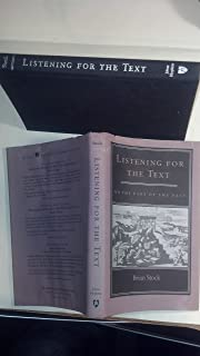 Listening for the Text On the Uses of the Past