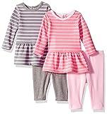 Hanes Ultimate Baby Flexy Set-2 Long Sleeve Dresses