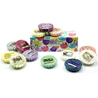 Yankee Candle 10 x Fondenti in Scatola Regalo Floreale