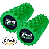 High Density Foam Roller for Muscles – Palm & Finger Dual Pressure Zones - For Exercise, Deep Tissue Massage, Back Pain, Physical Therapy, Yoga, Pilates, & Running/ Sports Soreness