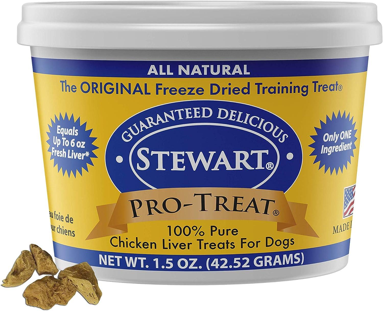 Pro-Treat Stewart Freeze Dried Chicken Liver (1.5 oz)