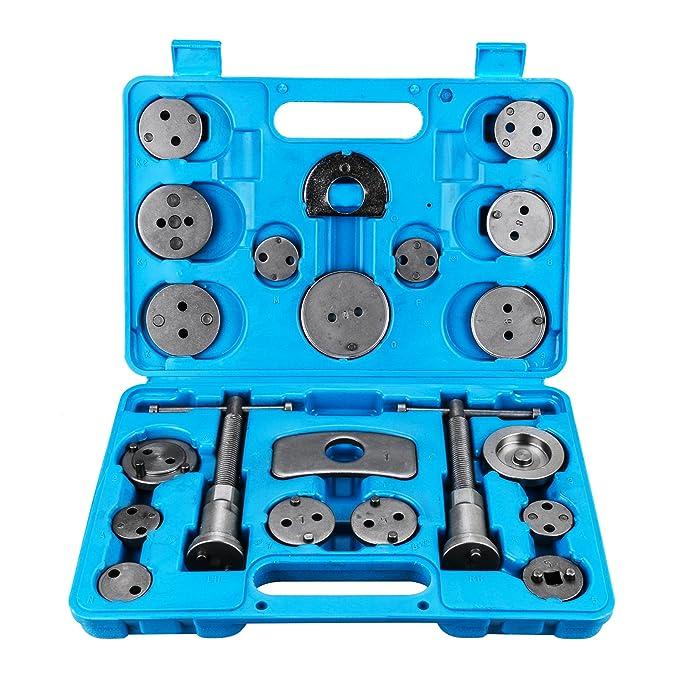 Amazon.com: 21 PCS Universal Disc Brake Caliper Piston Compressor Wind Back Repair Tool Kit: Automotive