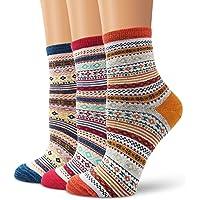 Ambielly Cute Animal Design Women's Casual Comfortable Cotton Crew Socks