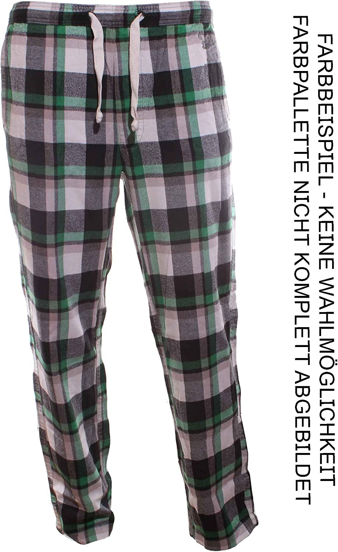 Pyjamahose Schlafanzughose Herren Flanell Webhose