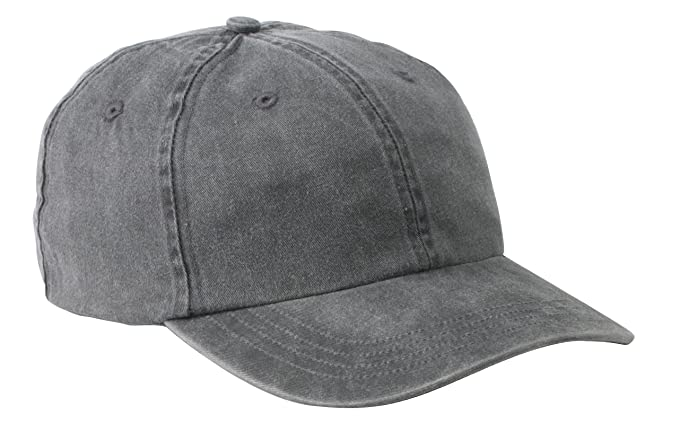 b96e6991796 Amazon.com  Port   Company Men s Pigment Dyed Cap OSFA Black  Clothing