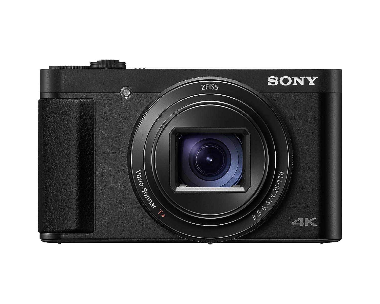 Sony DSC-HX99B - Cámara compacta (zoom ZEISS 24-720mm, vídeo 4K, AF rápido y Eye AF, visor OLED, pantalla táctil con inclinación de 180º, anillo de control ...