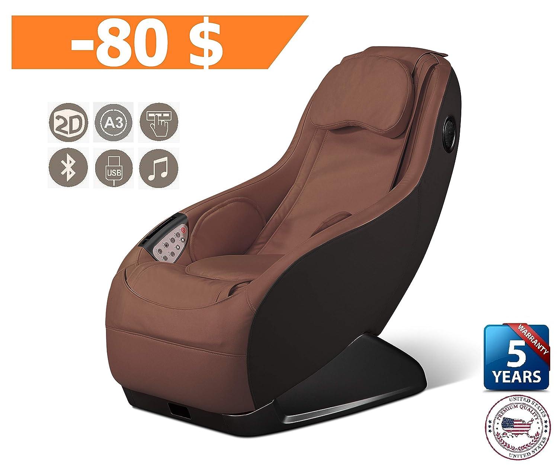 Amazon.com: GURU Massage Chair - Brown (2019 New Model) - 3 ...