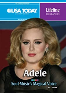 Adele: Soul Musics Magical Voice (USA Today Lifeline Biographies)