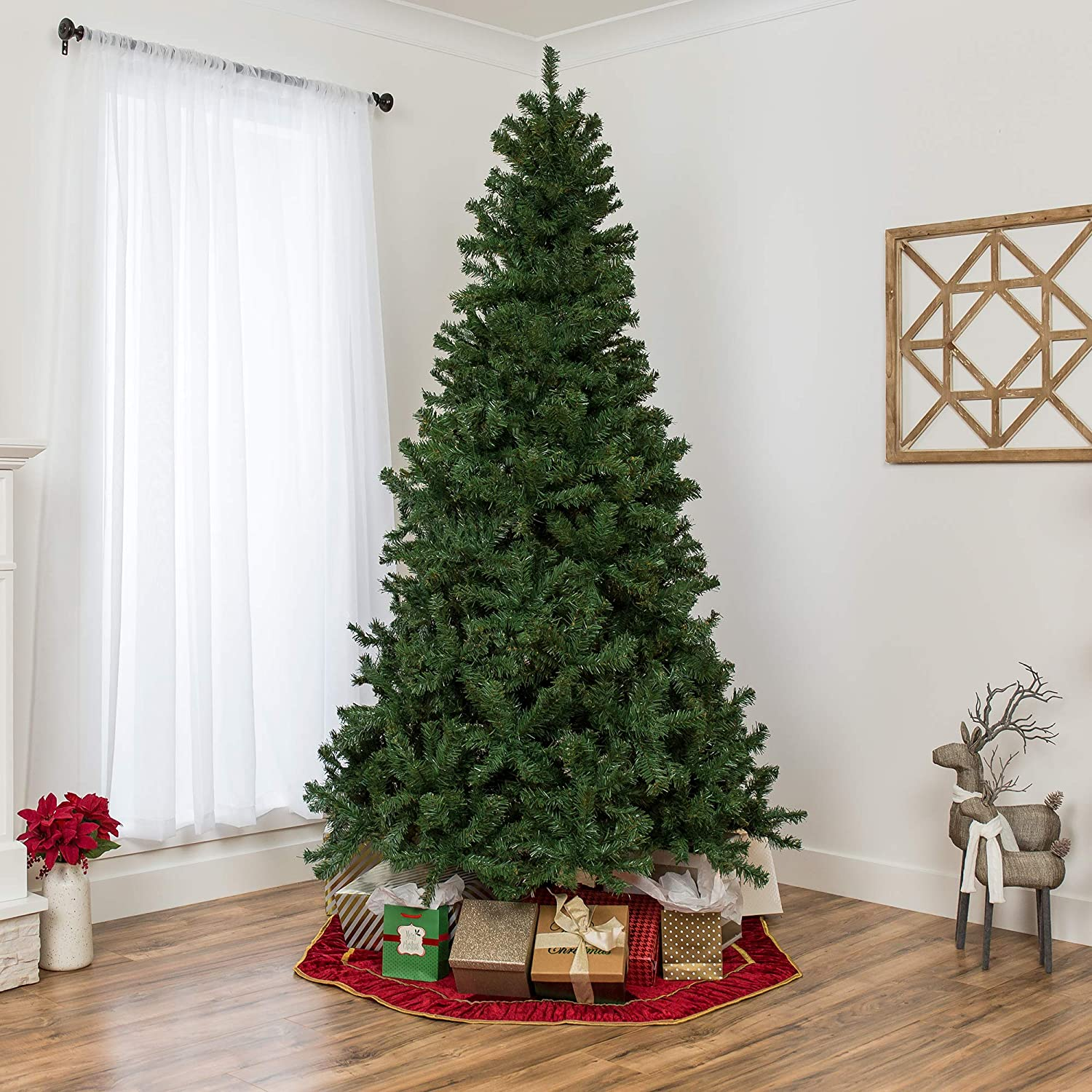 7.5ft Premium Spruce Hinged Artificial Christmas Tree