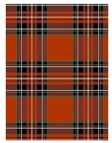 newbridge hamilton red and black scottish tartan plaid christmas print vinyl flannel backed tablecloth by