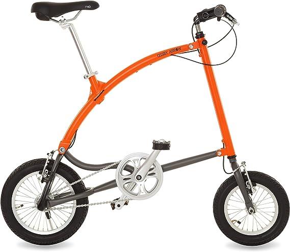 Ossby Arrow Bicicleta Plegable, Unisex Adulto, Naranja, Talla ...