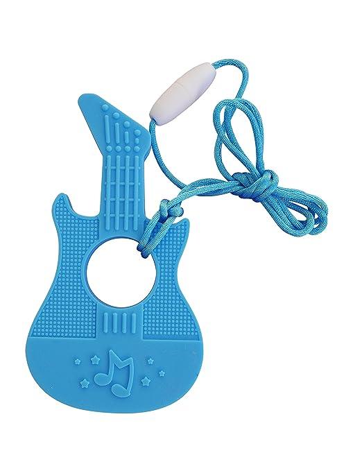 Mordedor de Silicona con Forma de Guitarra Chupete para ...