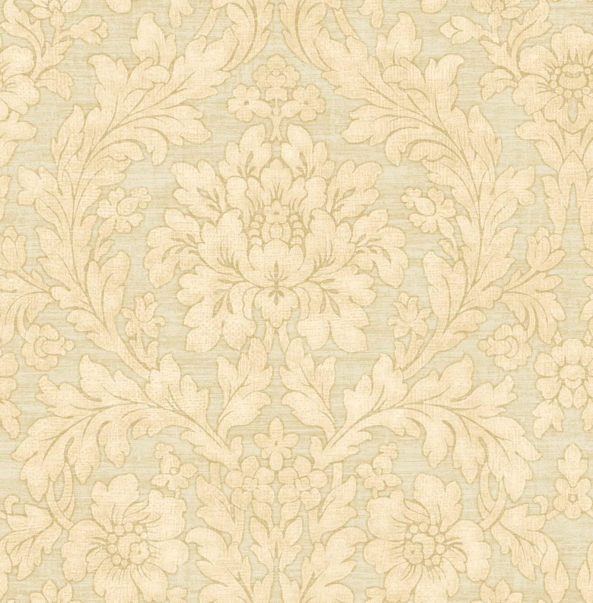 Floral Vintage Wallpaper Damask Victorian Sand Nude Cream Arts And