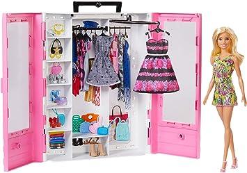 Barbie Closet With A Doll Gbk12 Amazon It Giochi E Giocattoli