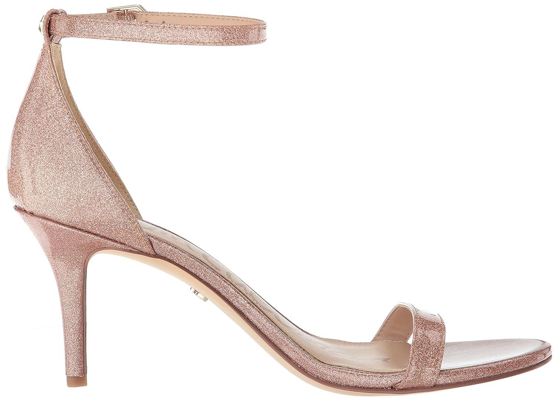 Sam Edelman Women's Patti Heeled US|Nude Sandal B07C9H256H 9 W US|Nude Heeled Glitter Patent edc9f5