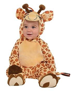 amscan 9902078 Disfraz bebé Jirafa, 12 – 24 Meses