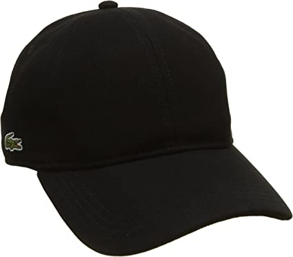 casquette noir homme lacoste