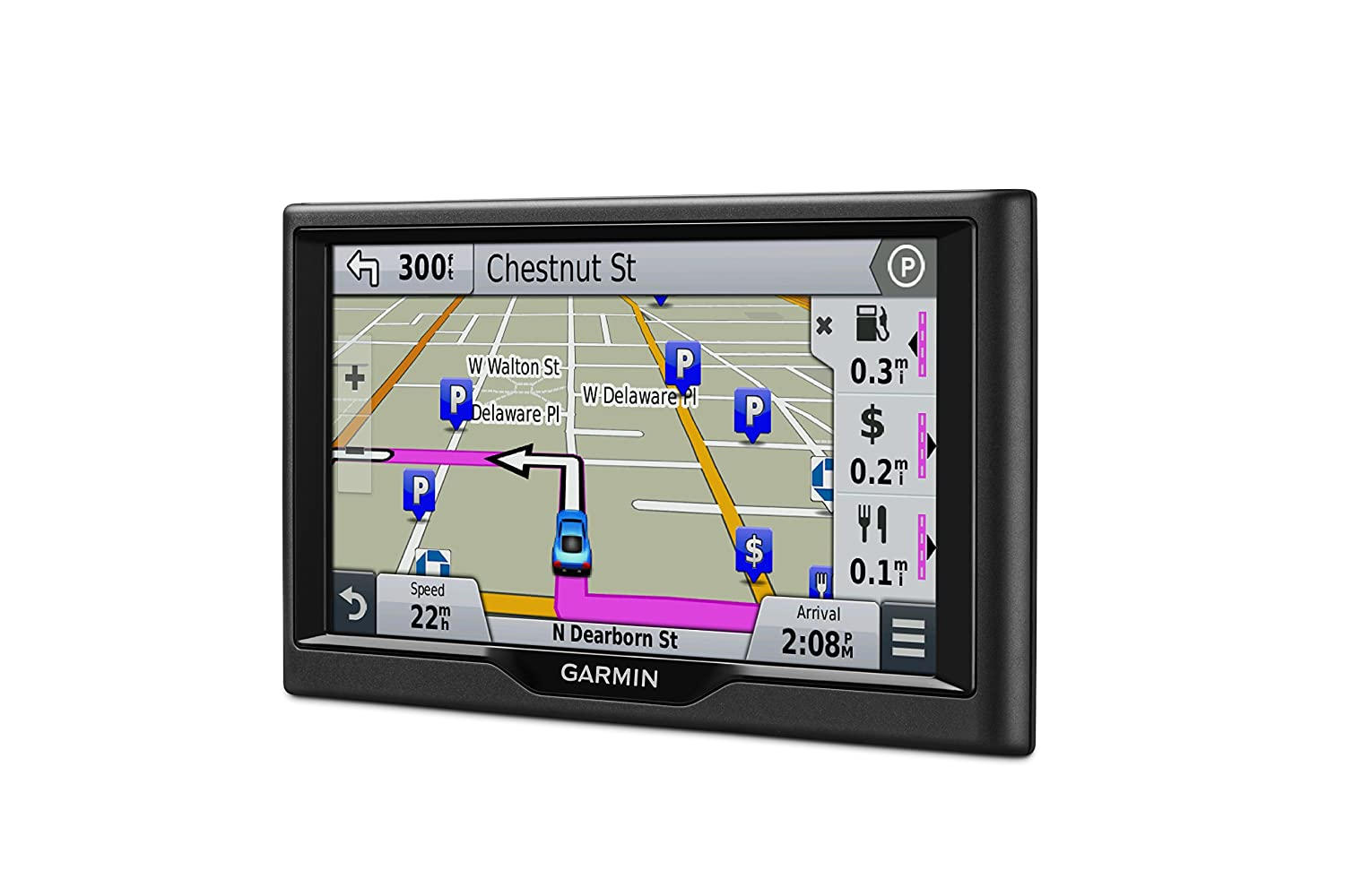Amazoncom Garmin Nuvi LM Inch GPS Navigator Discontinued By - Garmin nuvi usa map download