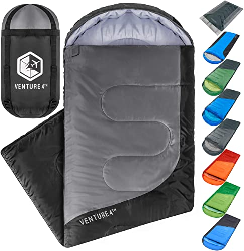Backpacking Sleeping Bag Lightweight Warm Cold Weather Sleeping Bag