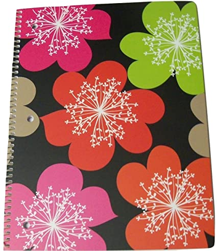 Amazon Com Pink Light Design Spiral Notebook It S A Breeze