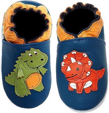 Momo Baby Infant/Toddler Dinosaur Blue