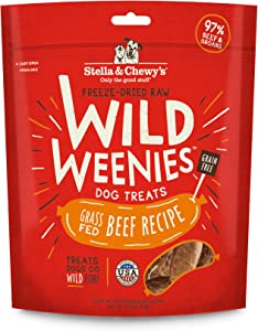 Stella & Chewy's Freeze-Dried Raw Wild Weenies Dog Treats