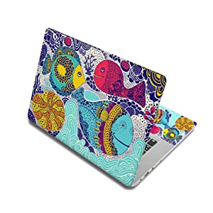 Cartoon Sticker For Laptop Skin Surface Protection Computer Cover Notebook Stickers For Mac Air/Sony/Lenovo/Asus,17 Inch(41.5 X 29cm),Laptop Skin 5