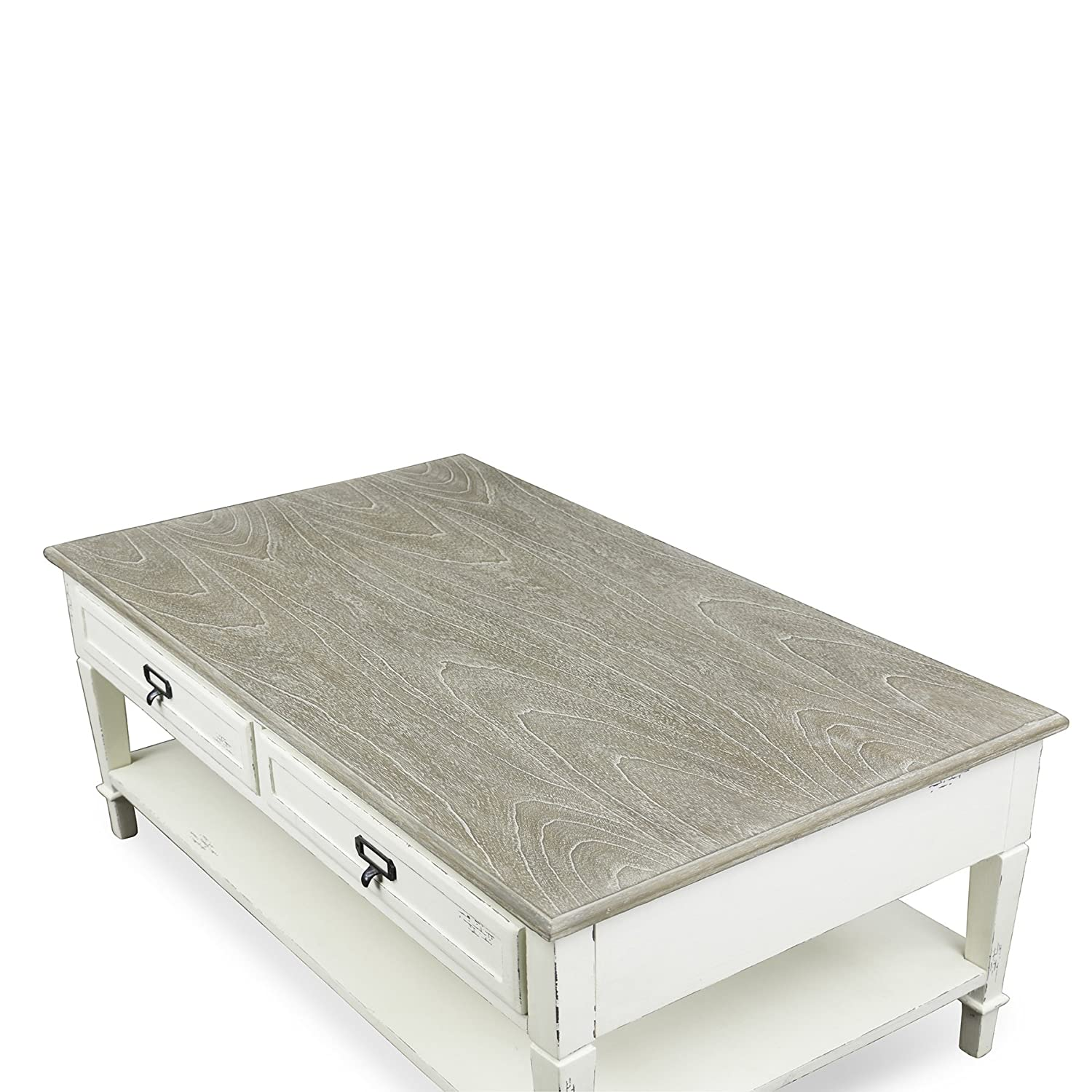 Superbe Amazon.com: Baxton Studio Dauphine Traditional French Accent Coffee Table,  White: Kitchen U0026 Dining