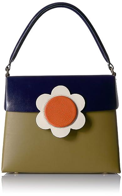 462c53dd4c9b Orla Kiely Giant Flower Leather Large Bonnie Bag